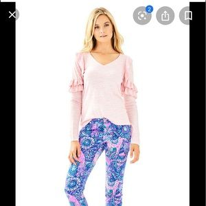 Lilly Pulitzer Pink  Fresca sweater S